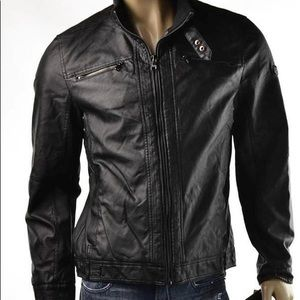 English Laundry Black Moto Jacket
